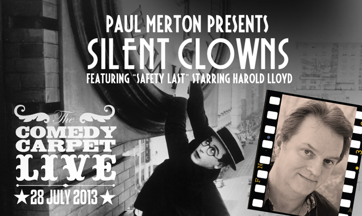 Paul Merton presents Silent Clowns